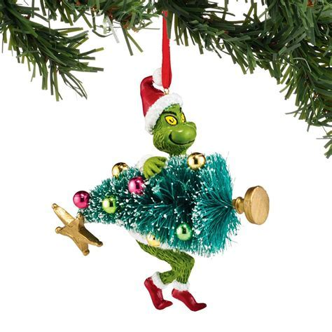 Department 56 Dr Seuss Grinch Stealing Tree Ornament