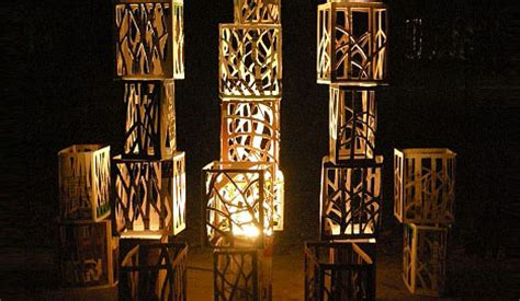 Home Decorating Ideas For Diwali by Diy Holiday Decor Idea Recycled Wood Wine Box Lighting