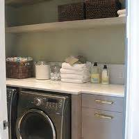 white  green laundry room traditional laundry room