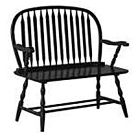 black windsor bench exquisite antique black colonial windsor hardwood bench