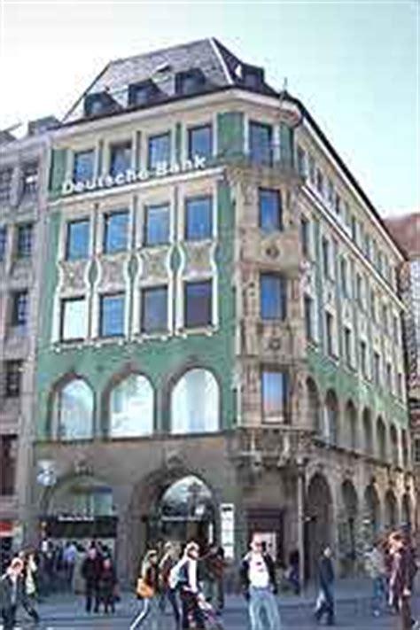 deutsche bank pasing einkaufsstra 223 en in m 252 nchen marienplatz 21 deutsche bank