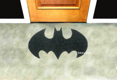 custom entry rugs batman sign rug shape doormat custom from xatara on etsy
