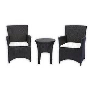 Wicker Bistro Table And Chairs Outdoor Sets St Tropez Wicker 3 Pcs Bistro Set Side Table And 2 Chairs Source Outdoor So