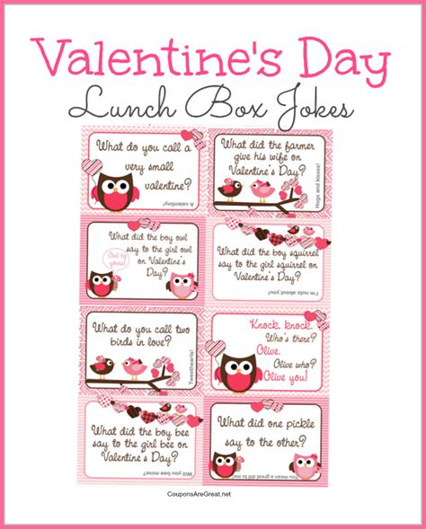 valentines day note printable s day lunch box notes using valentines