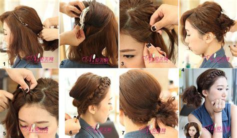tutorial menggelung rambut simple cara mengepang rambut hairstylegalleries com