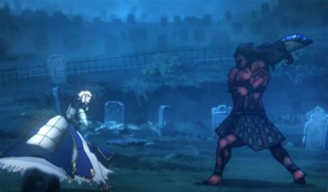 fate anime series plot the fate stay and the epic series it started