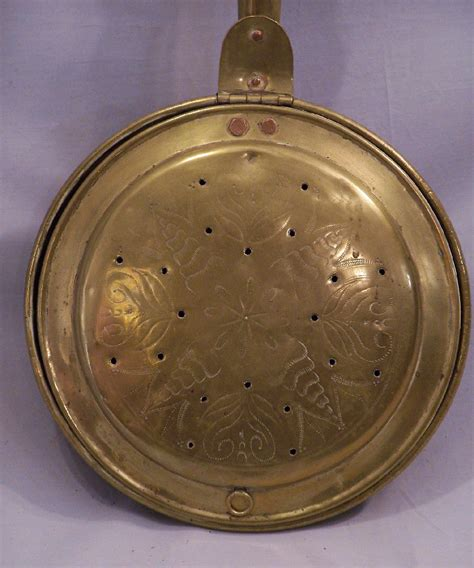 bed warmer 8007 early american brass bed warmer c 1780 for sale antiques com classifieds