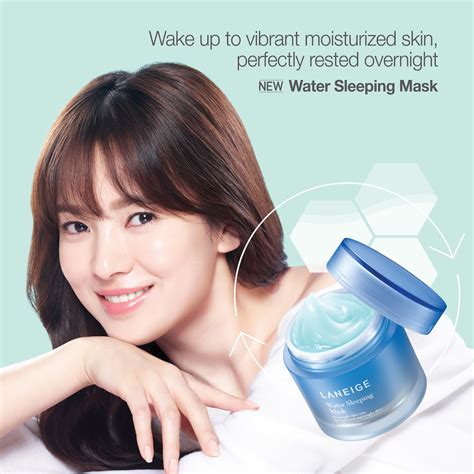 Bedak Korea Laneige laneige water sleeping mask 15ml miss lie collection