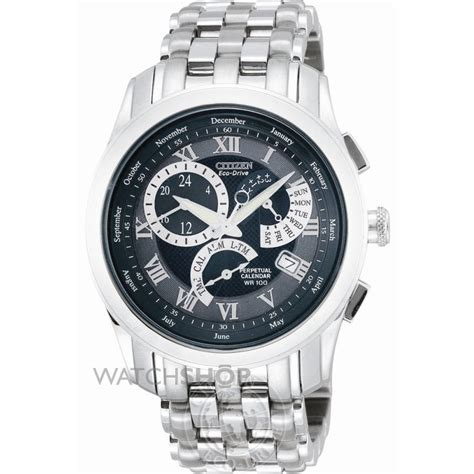 Men's Citizen Calibre 8700 Alarm Eco Drive Watch (BL8000