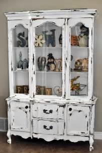 distressed white hutch distressed white hutch re do hutches armoire wardrobe
