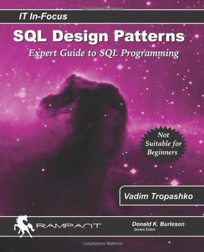 design expert guide sql design patterns expert guide to sql programming it