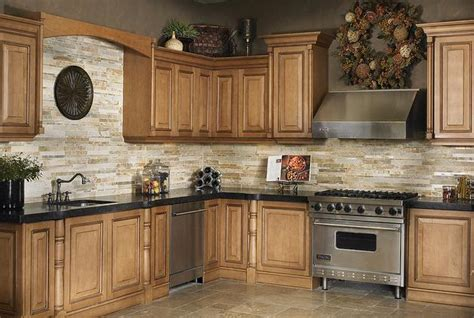 stone kitchen backsplash ideas tile backsplash with granite countertops