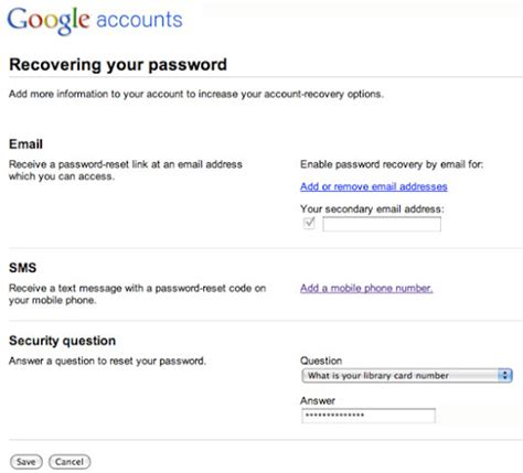 gmail reset via sms recover your gmail password via sms text message