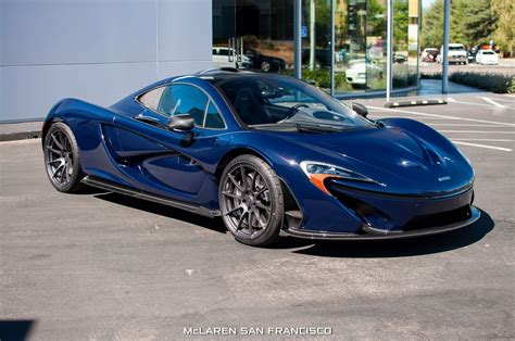 custom mclaren p1 new mclaren p1 in custom blue shade arrives in san