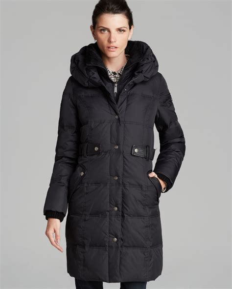 Pillow Collar Coats by Dkny Coat Faith Pillow Collar In Black Lyst