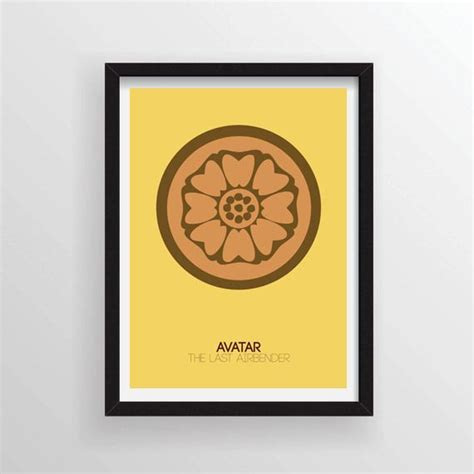 avatar the last airbender white lotus white lotus from avatar the last airbender minimal poster