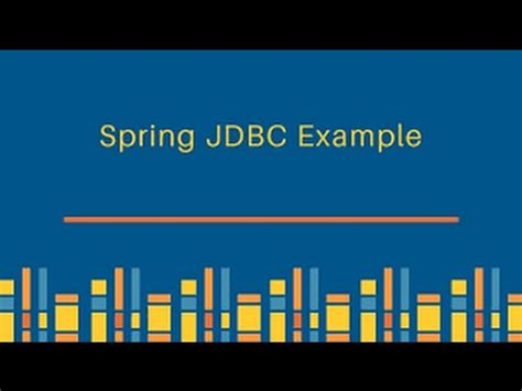 jdbc template in jdbc exle using jdbctemplate in eclipse
