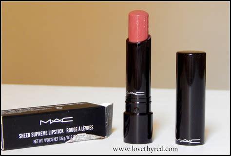 mac sheen supreme lipstick mac sheen supreme lipstick impressive review and swatch