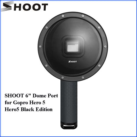 Gopro 5 Black Edition shoot dome port xtgp376 for gopro 5 hero5 black edition 6 quot floaty bobber gopro accesories