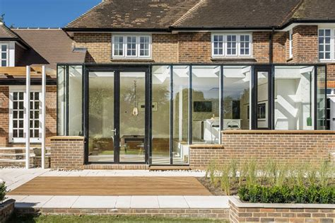 Design House Winchester Uk House Extensions Reveal The Line Between And New