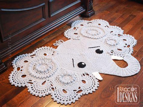 Elephant Rug For Nursery Crochet Pattern by Crochet Pattern Josefina And Jeffery Elephant Rug Nursery