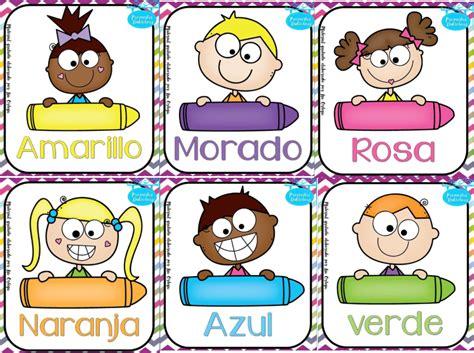 imagenes educativas los colores fant 225 stico dise 241 o para que nuestros alumnos de preescolar