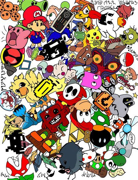 doodle colour gaming doodle colour by kayle619 on deviantart