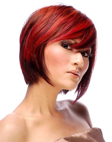 haircuts with color and highlights short hair colour ideas 2012 2013 short hairstyles