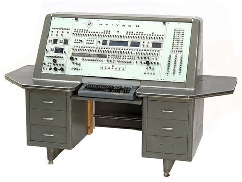 console computer univac ii computer console 1958 school computers