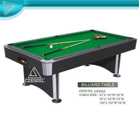 Meja Billiard Besar 8 kaki meja biliar dengan batu tulis snooker meja biliar
