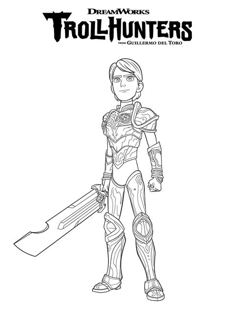 kids fun 10 coloring pages trollhunters