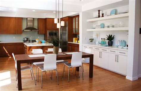 modern kitchen and dining room design 29 awesome open concept dining room designs