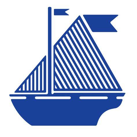 boat flags images sail boat flag blue sail boat png image picpng