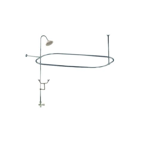 Used Clawfoot Tub Shower Kit by Chrome Clawfoot Tub Shower Conversion Kit With Enclosure