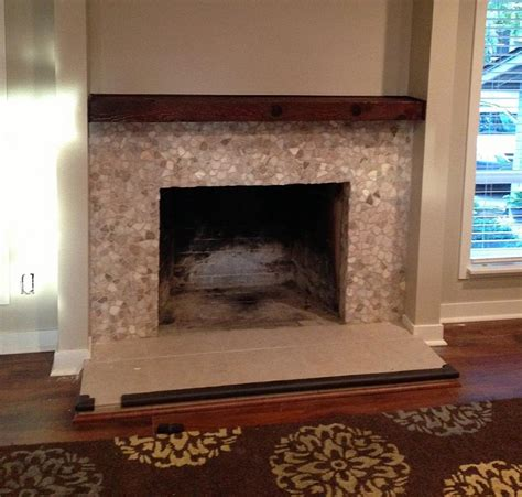 fireplace tile surrounds photos