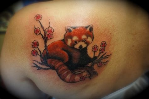 red panda tattoo deirdre doyle tattooer