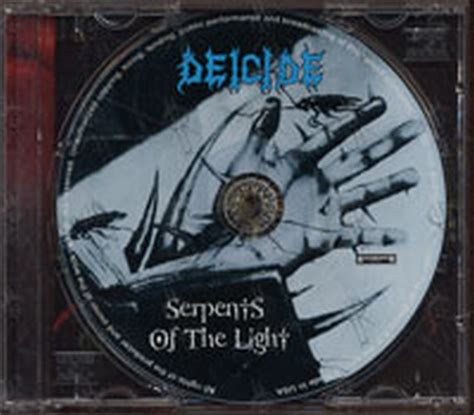 Serpent Of Light by Deicide Serpents Of The Light Album Cd Records