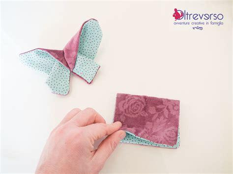 tutorial origami farfalla farfalla origami di stoffa con tutorial per manualmente