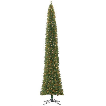 walmart pencil christmas trees artificial time 12ft brinkley pencil artificial tree clr walmart