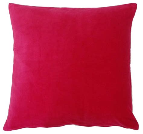 Pink Velvet Pillow by Pink Velvet Pillow Decorative Pillows