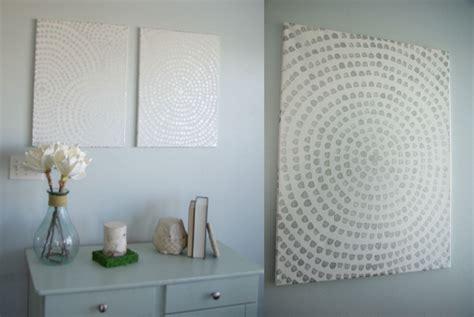 Basteln Leinwand Gestalten by Bilder Selbst Gestalten 14 Diy Wanddeko Ideen