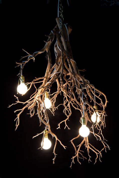 Halloween Wood Tree Branch Chandelier Id Lights Branch Chandelier Lighting