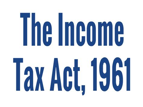 section 7 of the income tax act list of income tax act 1961 sections part 1 2