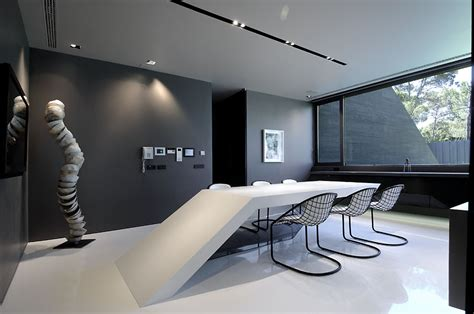 modern home design showroom gallery of concrete house ii a cero 13