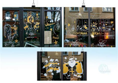 vitrine noel restaurant comptoir 44 rue de gand lille s9