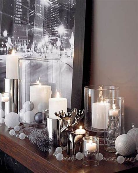 decorating for winter winter decor trend 34 stylish silver accessories and