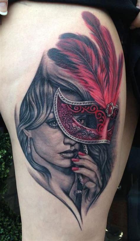 masquerade tattoo tattoos pinterest