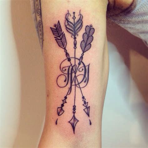 friendship arrow tattoo 8 stunning tribal arrow tattoos only tribal