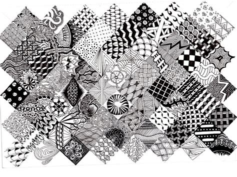 pattern line work learn the art of zentangle at the yorkville public library