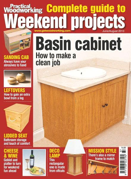weekend woodworking projects magazine practical woodworking complete guide to weekend